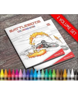 BattleBots Coloring Book