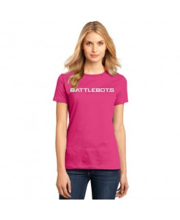 Ladies BattleBots Shirt - Pink