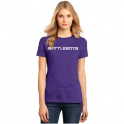 Ladies BattleBots Shirt - Purple