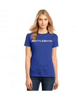 Ladies BattleBots Shirt - Royal Blue