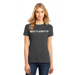 Ladies BattleBots Shirt - Charcoal