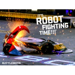 It's Robot Fighting Time™ - Action Poster