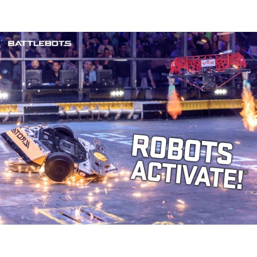 Robots Activate® - Action Poster
