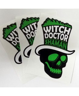 Witch Doctor Stickers