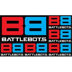 BattleBots Logo Decal Sheet