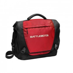 Logo Messenger Bag - Red