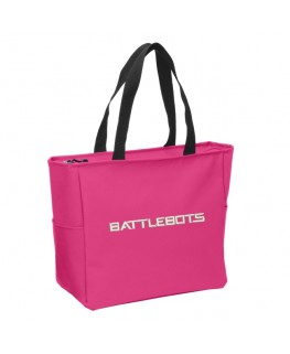 BattleBots Tote Bag - Pink