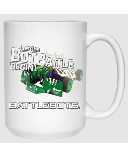 Let the Bot Battle Begin™ - Witch Doctor (15 oz Mug)