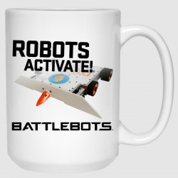 Robots Activate!® - DUCK! (15 oz Mug)