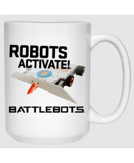 Robots Activate!™ - DUCK! (15 oz Mug)