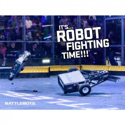It's Robot Fighting Time™ - Action Poster #4