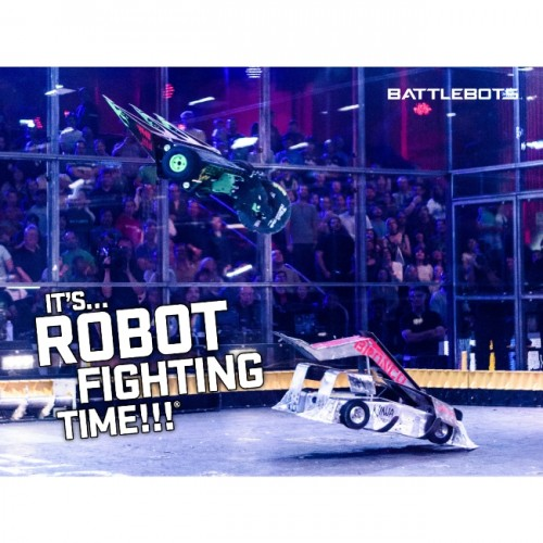 It's Robot Fighting Time™ - Action Poster #5